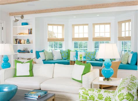 beachy home decor coastal style house decorating tips