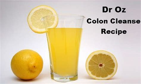 Best Detox Cleanse Ingredients by Best 25 Colon Cleanse Recipes Ideas On