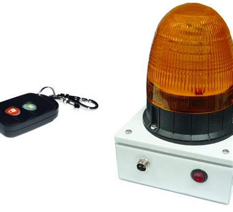 remote activated strobe light battery operated strobe rotating light with remote singtech