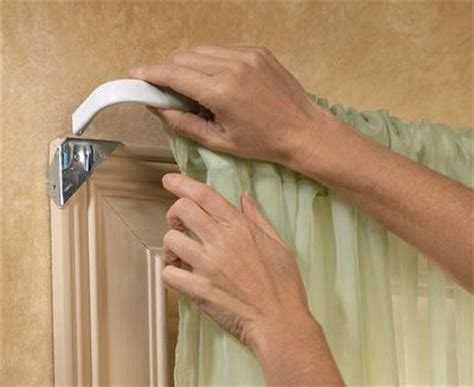 top mount curtain rods the window catalog and curtain rods on pinterest