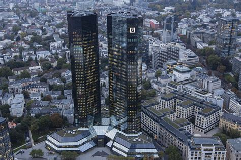 unicredit bank frankfurt am germany s business chiefs back deutsche bank amid mounting