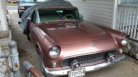 old car manuals online 1995 ford thunderbird auto manual 1955 thunderbird t bird manual convertible