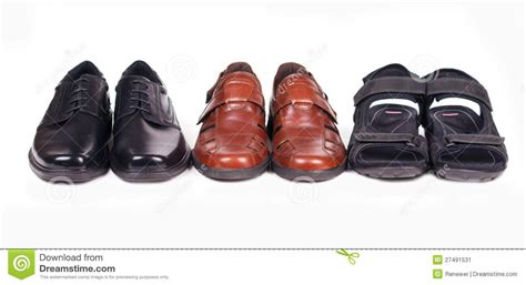 7 Pairs Of Shoes by Three Pairs Of Shoes Stock Image Image Of Isolated