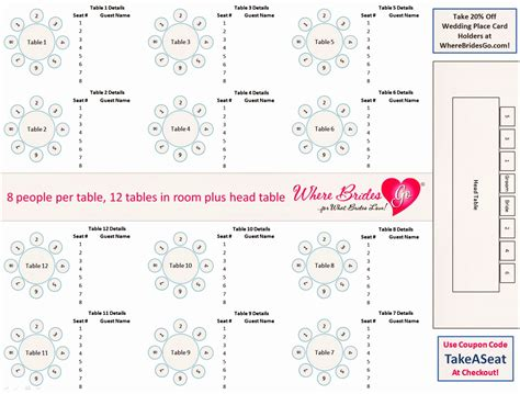 7 Seating Chart Template For Wedding Reception Yyrto Templatesz234 Reception Seating Chart Template Excel