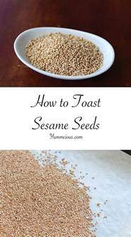 how to toast sesame seeds recipe sprinkles ovens and baking