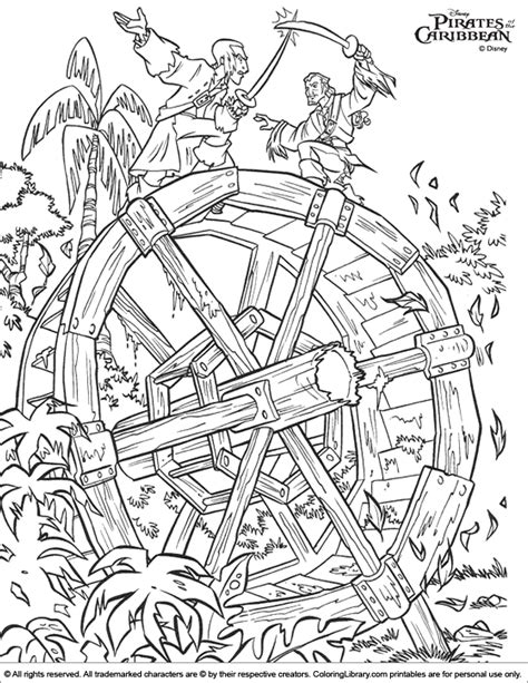 Pirates Of The Caribbean Coloring Picture Of The Caribbean Coloring Pages Coloring Home