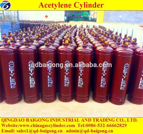 High Quality Dissolved 40l Acetylene Gas Cylinder Of Chinagascylinder Sale Empty High Pressure Acetylene Gas Cylinder Price Buy Acetylene Gas Cylinder Price