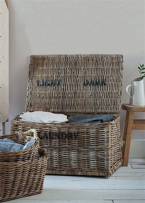 lights and darks laundry lights and darks laundry basket crafted in rattan with 2