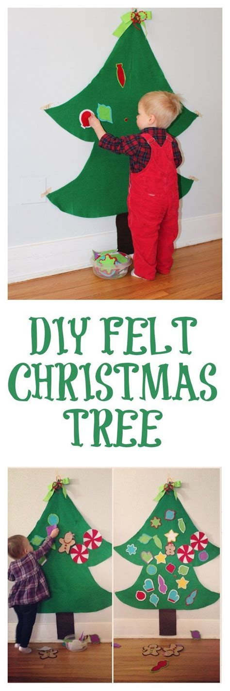 1000 ideas about felt christmas trees on pinterest felt