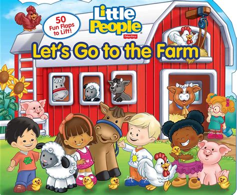 Fisher Price On The Farm fisher price let s go to the farm book by