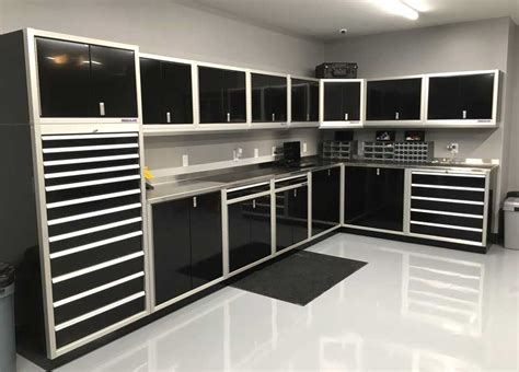 Gallery Of Garage Shop Aluminum Cabinets Moduline Part 2