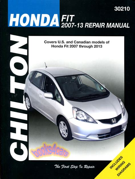 car maintenance manuals 2009 honda fit auto manual shop manual honda fit service repair book chilton haynes ebay