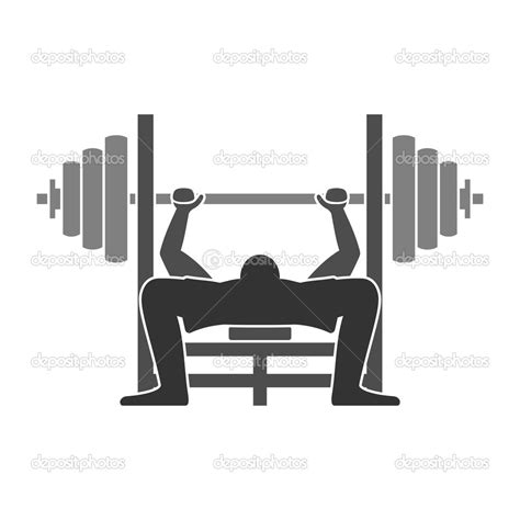 cartoon bench press bench press clipart clipart suggest