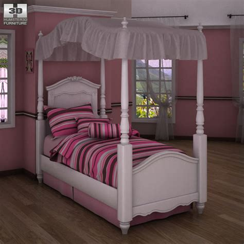 exquisite bedroom set 3d model humster3d