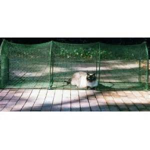 kittywalk deck and patio outdoor cat enclosure containment