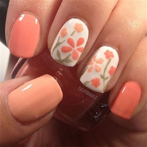 easy nail art spring easy spring nail art designs ideas trends 2014 for