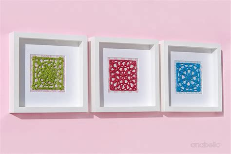 Anabelia Craft Design Crochet Lace Motifs In Pink And anabelia craft design 3 light crochet squares to fall in