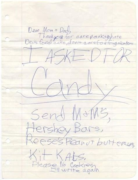 kids send overly dramatic letters  camp barnorama