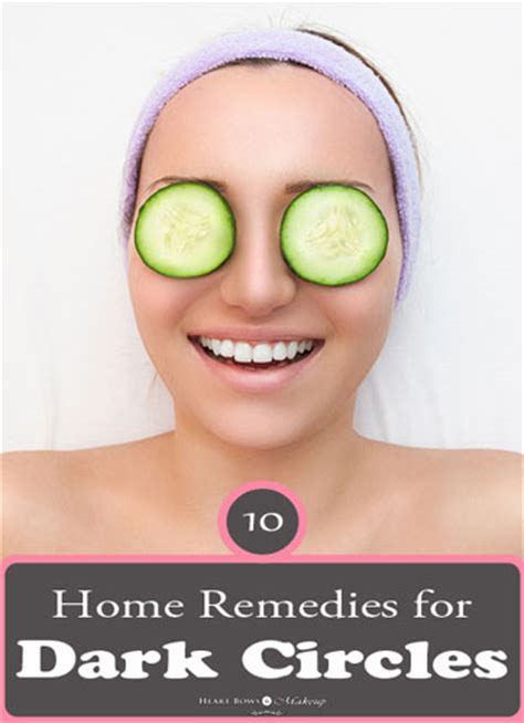 10 home remedies to remove circles