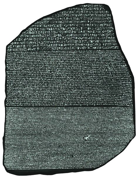 rosetta stone history quia class page bizarre ancient languages and alphabets