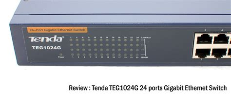 Switch Hub Tenda 24 Port review tenda teg1024g 24 ports gigabit ethernet switch
