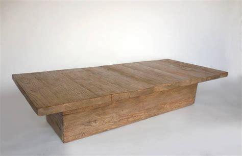 custom reclaimed wood rustic modern coffee table for sale