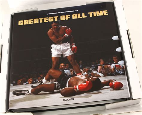 Best Coffee Table Books Of All Time Lot Detail 2010 Muhammad Ali The Greatest Of All Time Hardcover Taschen Coffee Table Book W