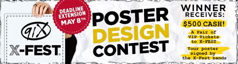 poster design competition rules poster contest rules 91x fm