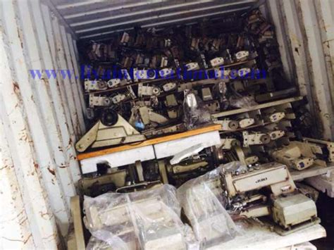sewing machine  sale  sri lanka loading container