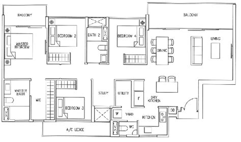 ecopolitan ec floor plan ecopolitan floor plans ecopolitan ec punggol way