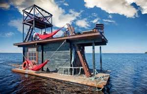 awesome homemade house boat rumble