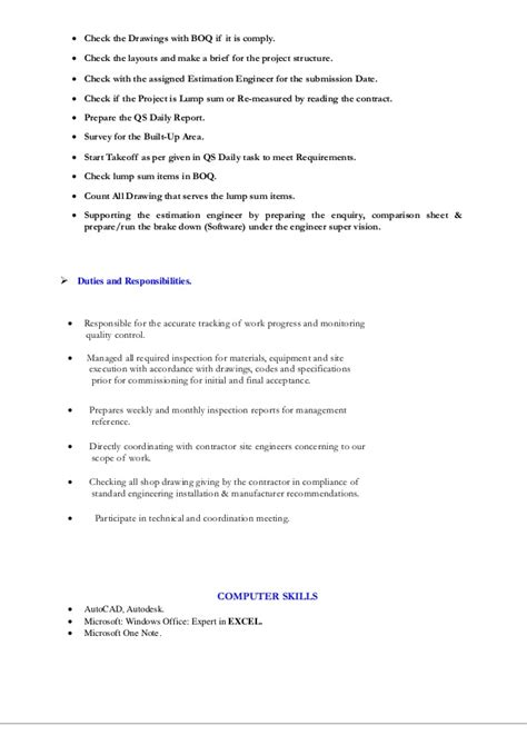 Mechanical Estimator Cover Letter by Lucas Cherry Mechanical Estimator With Stewart Richey Since 1998 National Mechanical Estimator