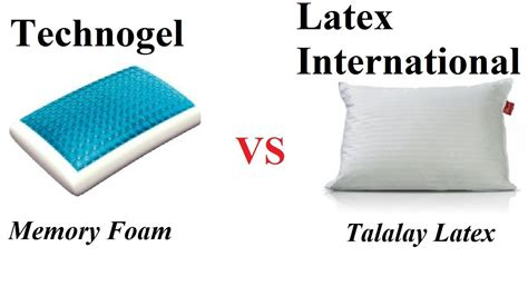 gel memory foam vs technogel vs