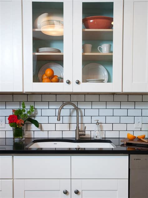 subway tile backsplashes hgtv white backsplash kitchen