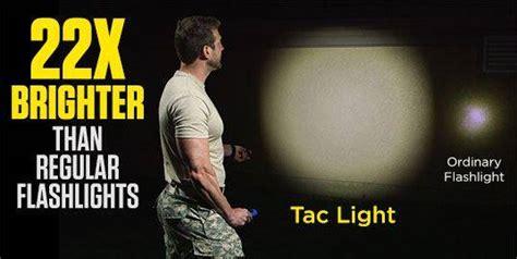 nick bolton flashlight tac light grade high performance tactical