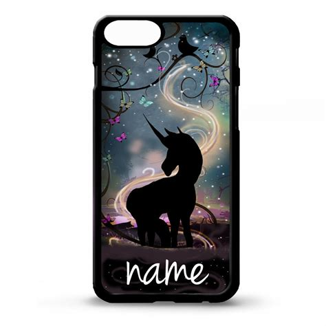 Unicorn For Iphone 5 5s unicorn pretty personalised name cover for