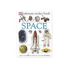 Promo Ultimate Book Of Space ultimate sticker book space