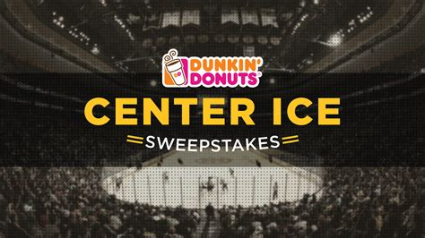 Www Ice Com Sweepstakes - dunkin donuts center ice sweepstakes nesn com