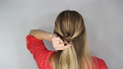 how to stack hair step by step the stacked topsy tail braid hair tutorial hello miss niki