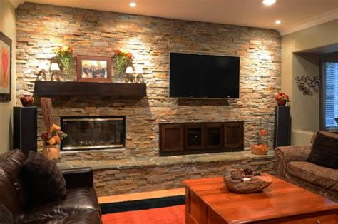 stone wall living room stone wall in living room elegant grey and brown living room ideas lilalice com modern gray