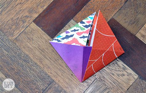 Triangle Origami Box - it s a wrap triangle origami boxes i try diy