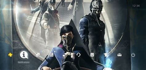 Dishonered 2 Bd Ps 4 three free ps4 dynamic dishonored 2 themes hit the ps store gamezone