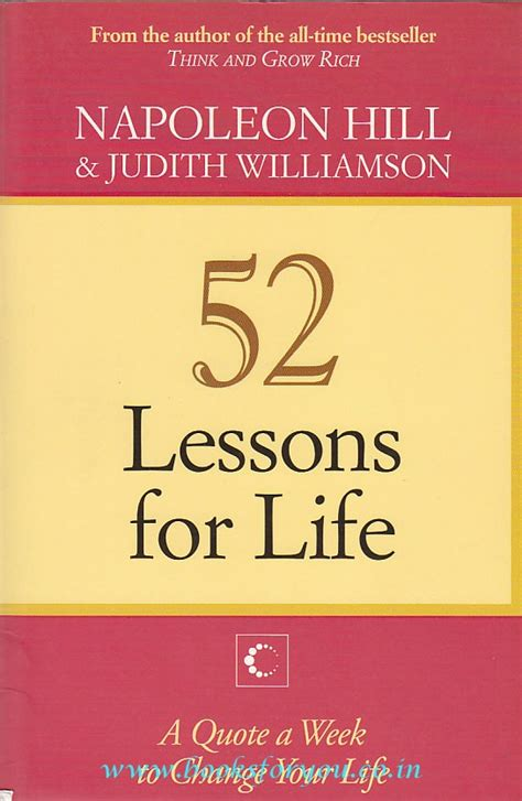 52 lessons for life a quote a week to change your life 52 lessons for life a quote a week to change your life