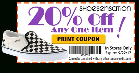printable paper store coupons shoe sensation with best picture collections
