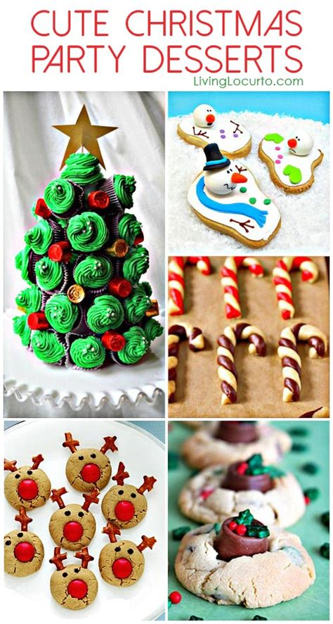 cute themes for christmas parties cute christmas party dessert ideas
