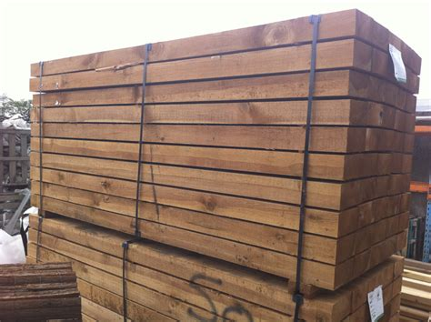 Pressure Treated Sleepers by Greenacres Landscapes Garden And Landscape Design