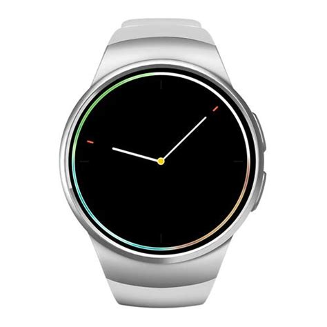 Kw18 Smartwatch Phone kw18 bluetooth 4 0 2g smartwatch phone rate silver