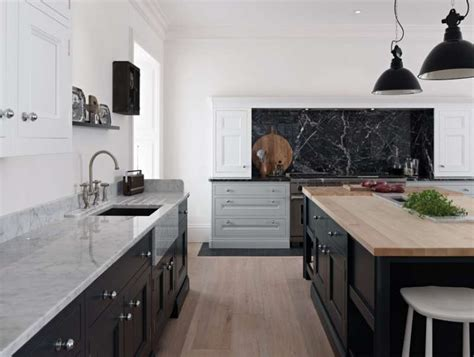 White Kitchen Island by 50 Shades Of Grey Part 2 C Amp C Kitchens
