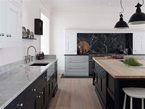 White Kitchen Dark Island by 50 Shades Of Grey Part 2 C Amp C Kitchens