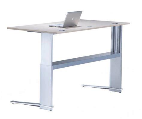 computer halterung schreibtisch sitz steh schreibtisch leuwico imove c h 246 henverstellbar